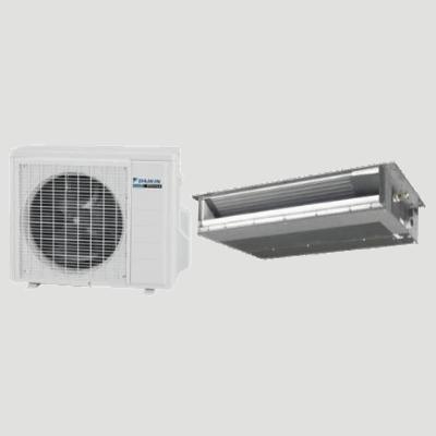 Daikin LV Series Slim Duct single-zone heat pump.