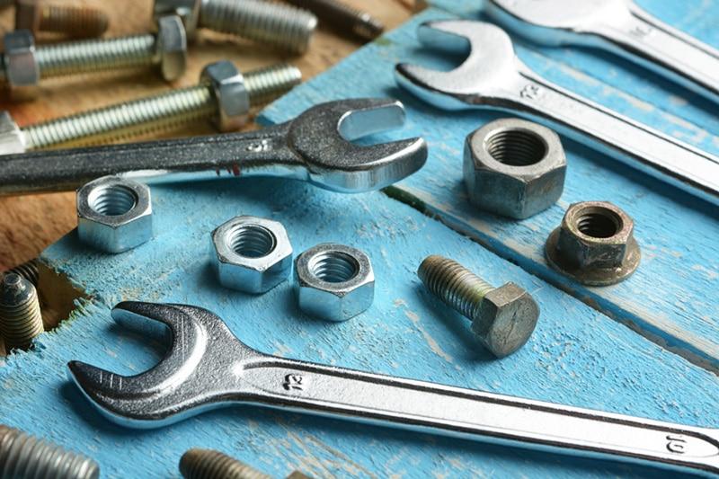 Hardware tools on a table top, Heat Pump Maintenance Tips | HVAC Service | Bainbridge Island, WA