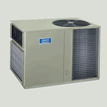 American Standard Silver 14 Over-Under Heat Pump System.